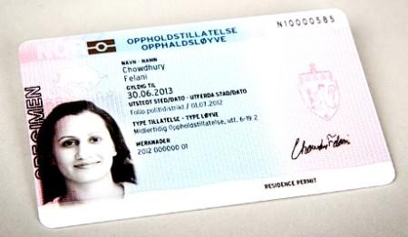 Norveška boravišna dozvola