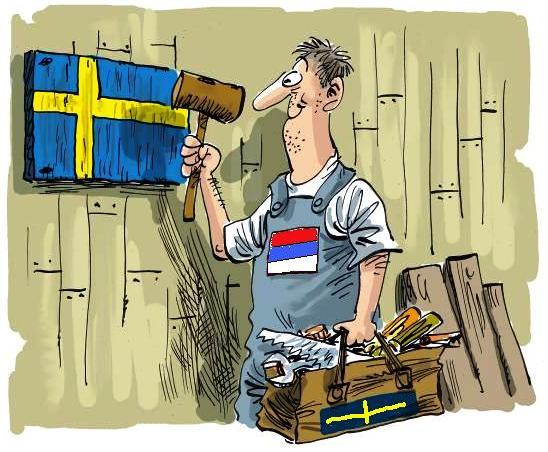 Naknada za nezaposlene u Švedskoj