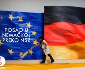 Posao u Nemačkoj preko NSZ