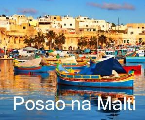 Kako do posla na Malti?