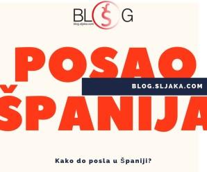 Kako do posla u Španiji ?