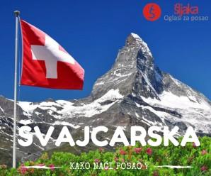 Kako naći posao u Švajcarkoj?