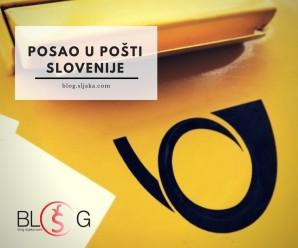 Prilika za posao u Pošti Slovenije