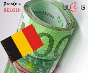 Kolike su prosečne plate u Belgiji ?