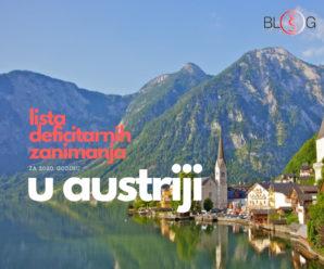 Koja su deficitarna zanimanja u Austriji za 2020. godinu?