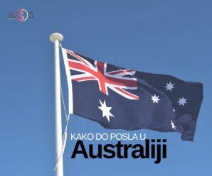 EVO KO NAJBRŽE STIŽE DO POSLA U AUSTRALIJI!